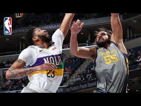 Video: Pelicans vs Grizzlies | Full Game Recap: Joakim Noah Leads Memphis