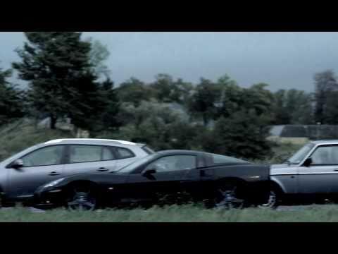 Ferrari vs bus commercial