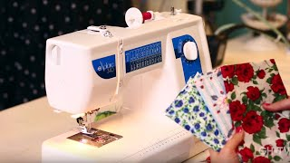If you're feeling intimidated by that sewing machine in your closet or just looking to get started, this is the class for you! Our sewing expert, Gretchen Hirsch, will make you feel comfortable and confident at the wheel in this 25-minute class.