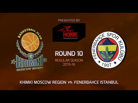 Highlights: RS Round 10, Khimki Moscow Region 68-70 Fenerbahce Istanbul