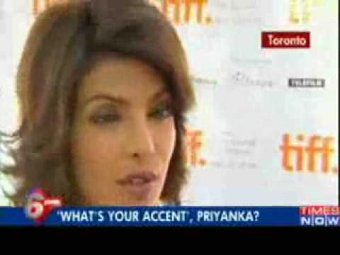 Priyanka Chopra's accent is so fake