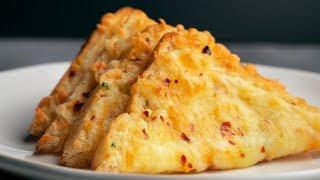 5 Minutes Chilli Cheese Toast Recipe   Chilli Toast