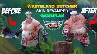 Mobile Legends - Franco WASTELAND BUTCHER Skin Revamped Gameplay