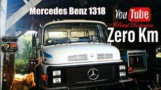 Nesta semana o descobridor de raridades Júlio, que garimpa incríveis veículos antigos com pouco ou nenhum uso apresentou sua mais nova descoberta: Um Mercedes-Benz 1318 fabricado em 1989, que se mantém zero KM até hoje, sem nunca ter sido emplacado,Obrigado por assistir! Não se esqueça de avaliar, comentar e se inscreverBLOG Portal Rodoviário clicando no link abaixohttp://portalrodoviario.blogspot.com.br/BEM VINDOS  NOSSO CANAL DE ENTRETENIMENTO E NOTÍCIAS RODOVIÁRIAS, CURIOSIDADES  E ASSUNTOS DE INTERESSE GERAL  CLICANDO EM GOSTEI VOCÊ AJUDA NOSSO CANAL! INSCREVA-SE E FIQUE ATUALIZADO SOBRE O MUNDO DO TRANSPORTE RODOVIÁRIO