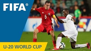 New Zealand 2015: A dramatic ending swung a hard-fought and important match to the Ghanaians. More U-20 World Cup highlights: http://www.youtube.com/playlist...