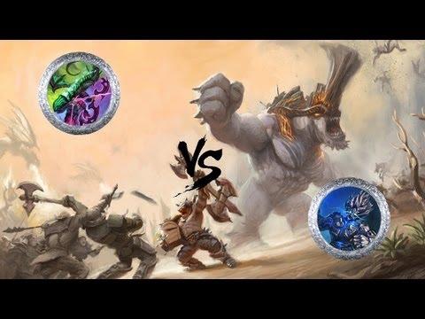 Let's Review Battleforge replays Part 6   MrNguyen vs xAragornx