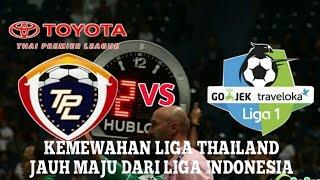 Video Perbandingan liga thailand vs liga indonesia MP3, 3GP, MP4, WEBM, AVI, FLV Oktober 2017