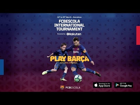 FCBEscola International Tournament 2018 Is Here!