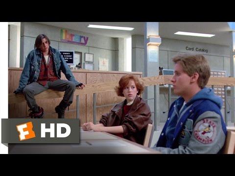 movieclips - The Breakfast Club Movie Clip - watch all clips http://j.mp/yxywCI click to subscribe http://j.mp/sNDUs5 Bender (Judd Nelson) starts causing trouble in deten...
