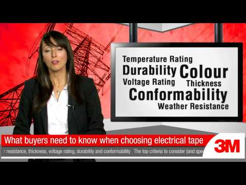 3M Electrical Supplies – What buyers need to know when choosing electrical tape