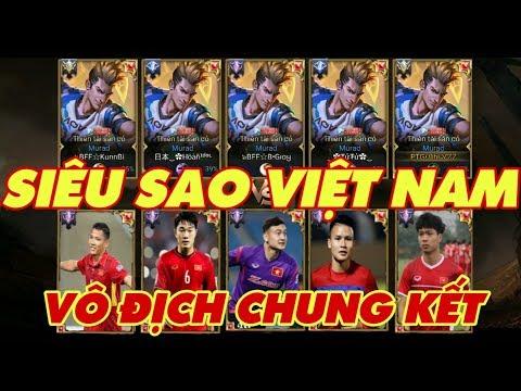 [Gcaothu] Việt Nam vô địch chung kết - 5 Murad siêu sao thế giới hủy diệt trận đấu - Thời lượng: 16:02.