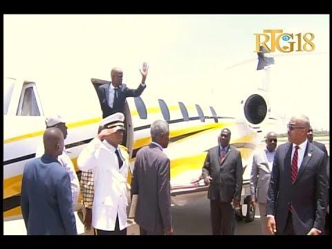 Le Président de la République, Jovenel Moïse a laissé le pays, pour se rendre à Grenade