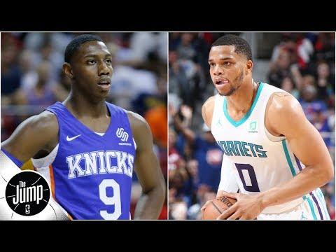 Video: Knicks, Hornets, Cavs? Who won't match their preseason win total? | The Jump