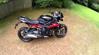 4. 2013 Triumph Street Triple R Walk Around And Mods