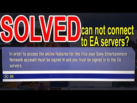Can't Connect To EA Server Fifa18 / 19 Error CE-32883-4? Fixed
