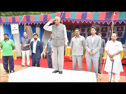 , E.S.L. Narasimhan Inaugurated School Football