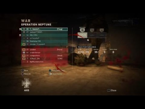 Call of Duty®: WWII 35 Killstreak!?!
