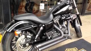 7. 2013 HARLEY-DAVIDSON DYNA FXDB STREET BOB @ West Coast Harley-Davidson, Glasgow, Scotland