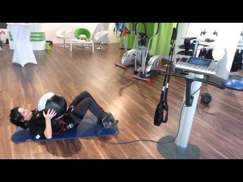 EMS Training Bauch workout
