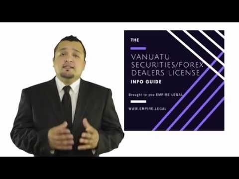 How to Apply to Vanuatu Forex/Binary Options License - (2/2)