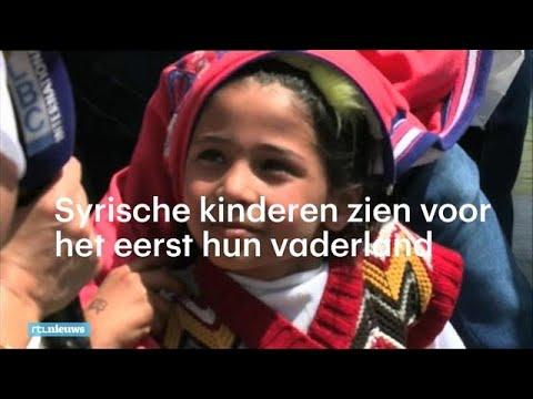 Syrische vluchtelingen keren terug: kinderen zien voor het eerst hun vaderland  - RTL NIEUWS
