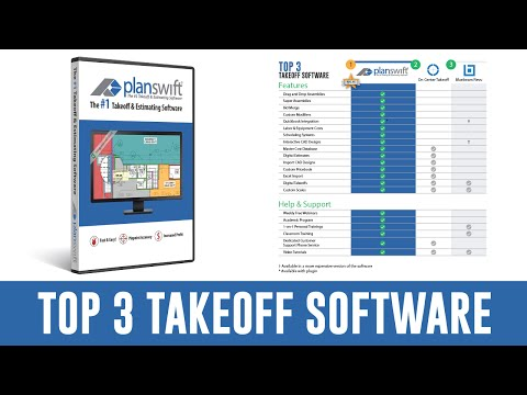 Top 3 Best Takeoff and Estimating Software | 2017