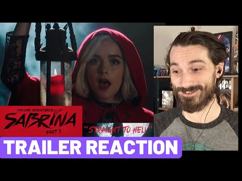 Chilling Adventures Of Sabrina Music Video Trailer REACTION