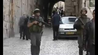 مقلب خطيير من فلسطيني للجنود الصهاينة