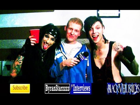 bryanstars - Checkout my backstage interview with Black Veil Brides members Andy Biersack and Christian Coma Watch my first interview with Black Veil Brides HERE: http://...