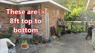 My new large wind chimes set and old time audio systems by Louisiana Cajun Recipes