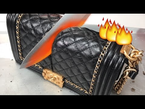 Download Glowing 1000 DEGREE KNIFE VS. CHANEL BAG + MAKEUP HD Mp4 3GP Video and MP3
