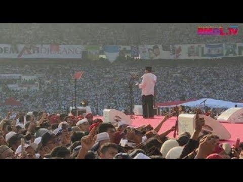 Pidato Sandiaga Uno, Kampanye Akbar 7 April 2019, GBK Jakarta