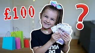 Video WHAT WILL SHE BUY WITH £100? 😍 MP3, 3GP, MP4, WEBM, AVI, FLV Desember 2018