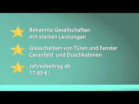 Günstige Glasversicherung 2016 abschließen