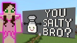 Video Minecraft: YOU SALTY BRO PARKOUR! - HEAD HUNTER THEME PARK [8] MP3, 3GP, MP4, WEBM, AVI, FLV September 2018