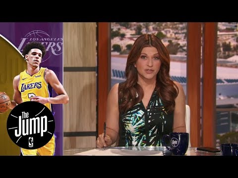 The message LeBron James said to Lonzo Ball | The Jump | ESPN