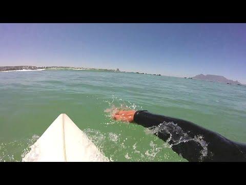 SURFING GOPRO HERO 4 BLACK MOUTH MOUNT CAPETOWN