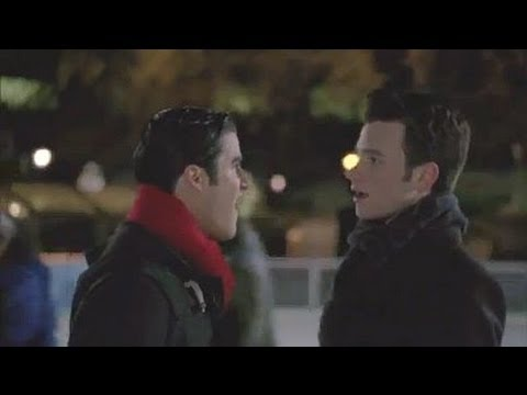 Glee 4.10 (Clip 'White Christmas')