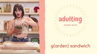 A Cheesy Garden Sammie Even Veggie Haters Will Love   Adulting by Tastemade