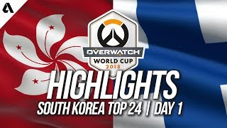 Hong Kong Vs Finland | Overwatch World Cup 2018 Incheon Qualifier Day 1