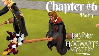 Harry Potter Hogwarts Mystery Chapter#6 Part 3: Mount Your Broom in Flying Class | Year 1