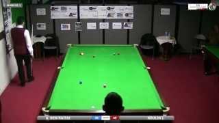 Coupe De France De Snooker 2013 - Ahmed Ben Raissi (Clermont-Ferrand) Vs. Jérémie Roulin (Dinard)