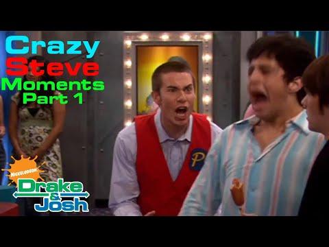 Drake & Josh Crazy Steve moments - Part 1