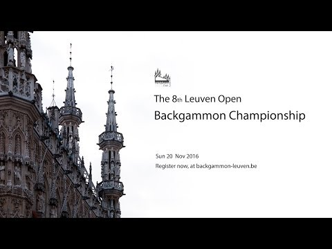 Leuven Open Backgammon 2016, a day to remember!