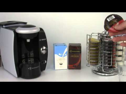 Making a Espresso Style beverage with Tassimo Coffee Maker
