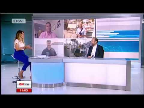Ο Πρόεδρος του Ο.Ε.Ε. στην εκπομπή «Online» του ΣΚΑΪ
