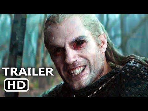 THE WITCHER Trailer # 2 (NEW 2019) Henry Cavill, Netflix Series HD