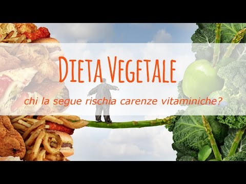 chi segue una dieta vegetale rischia carenze vitaminiche?
