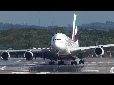 Очень опасная посадка А380