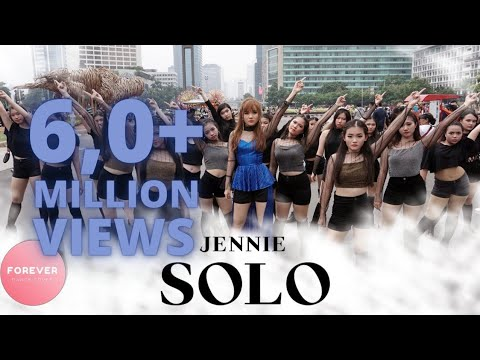 KPOP IN PUBLIC BLACKPINK JENNIE SOLO DANCE COVER In PUBLIC INDONESIA